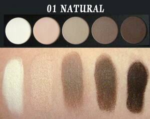 E style Palette Eyeshadows 01 Natural